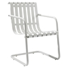 Gracie Retro Spring Chair - Alabaster White - CROS-CO1006A-WH