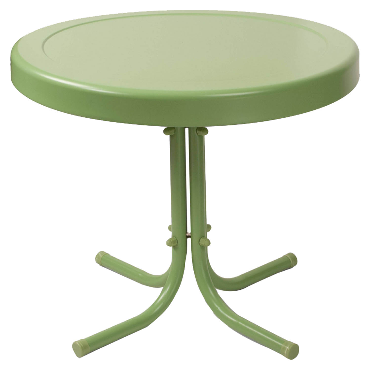 Retro Metal Side Table - Oasis Green - CROS-CO1011A-GR
