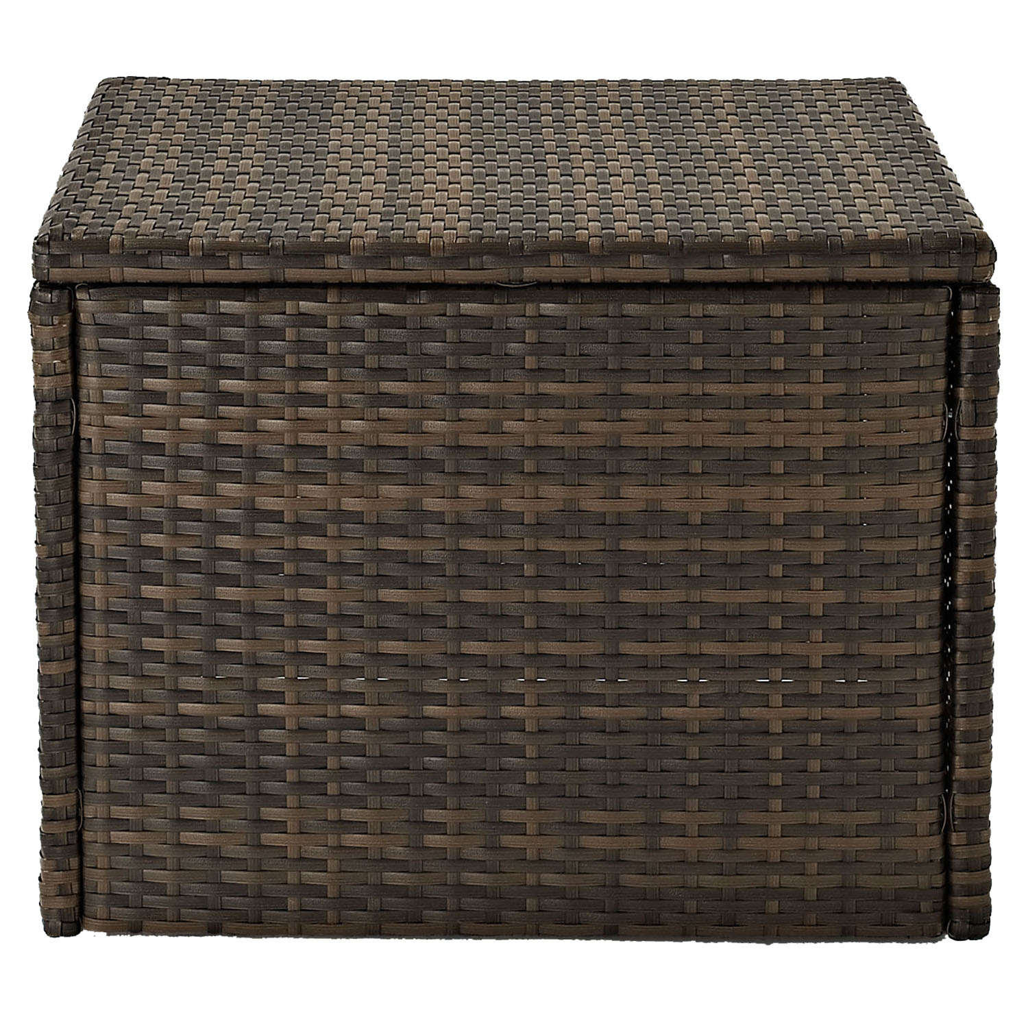 Palm Harbor Outdoor Wicker Coffee Table - Dark Brown