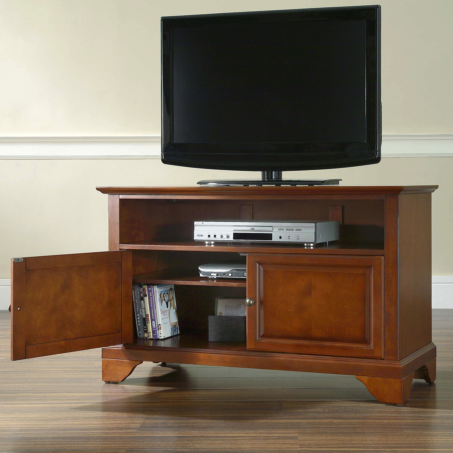 "LaFayette 42"" TV Stand - Classic Cherry - CROS-KF10003BCH"