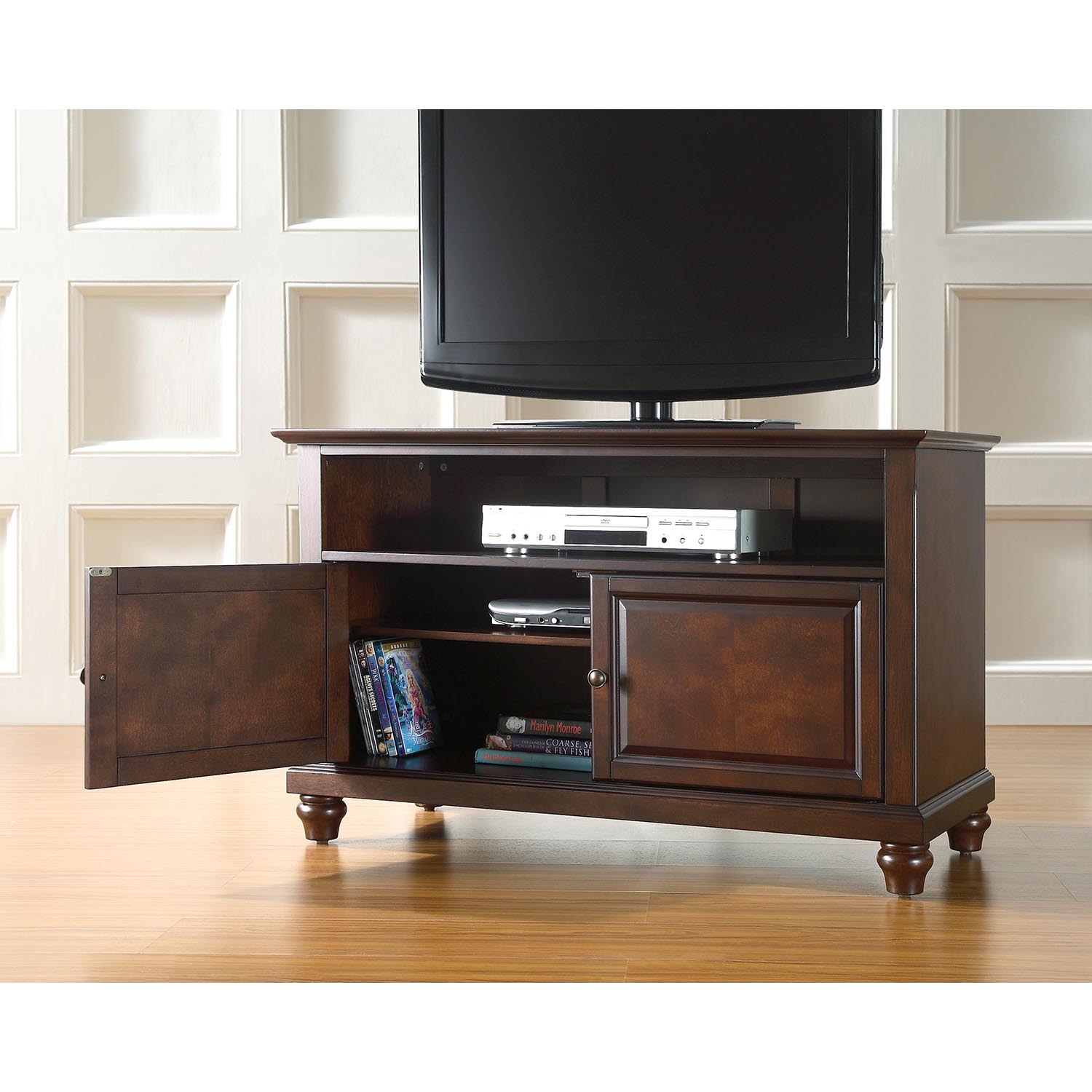 "Cambridge 42"" TV Stand - Vintage Mahogany - CROS-KF10003DMA"