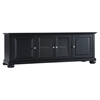 "Alexandria 60"" Low Profile TV Stand - Black - CROS-KF10005ABK"