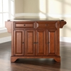 LaFayette Stainless Steel Top Kitchen Island - Classic Cherry - CROS-KF30002BCH