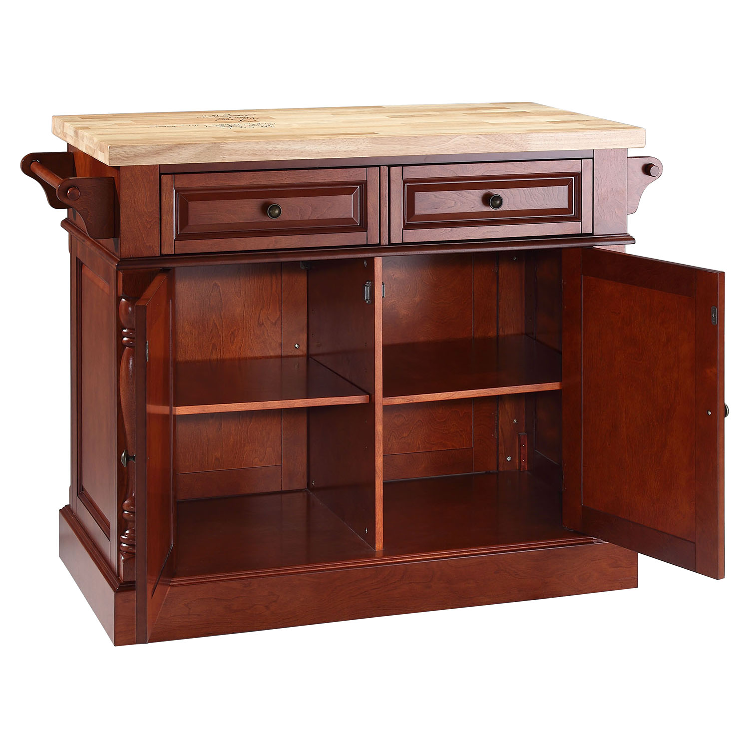 Kitchen Island With Drawers On Both Sides