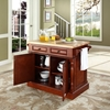 Butcher Block Top Kitchen Island - Classic Cherry - CROS-KF30006CH