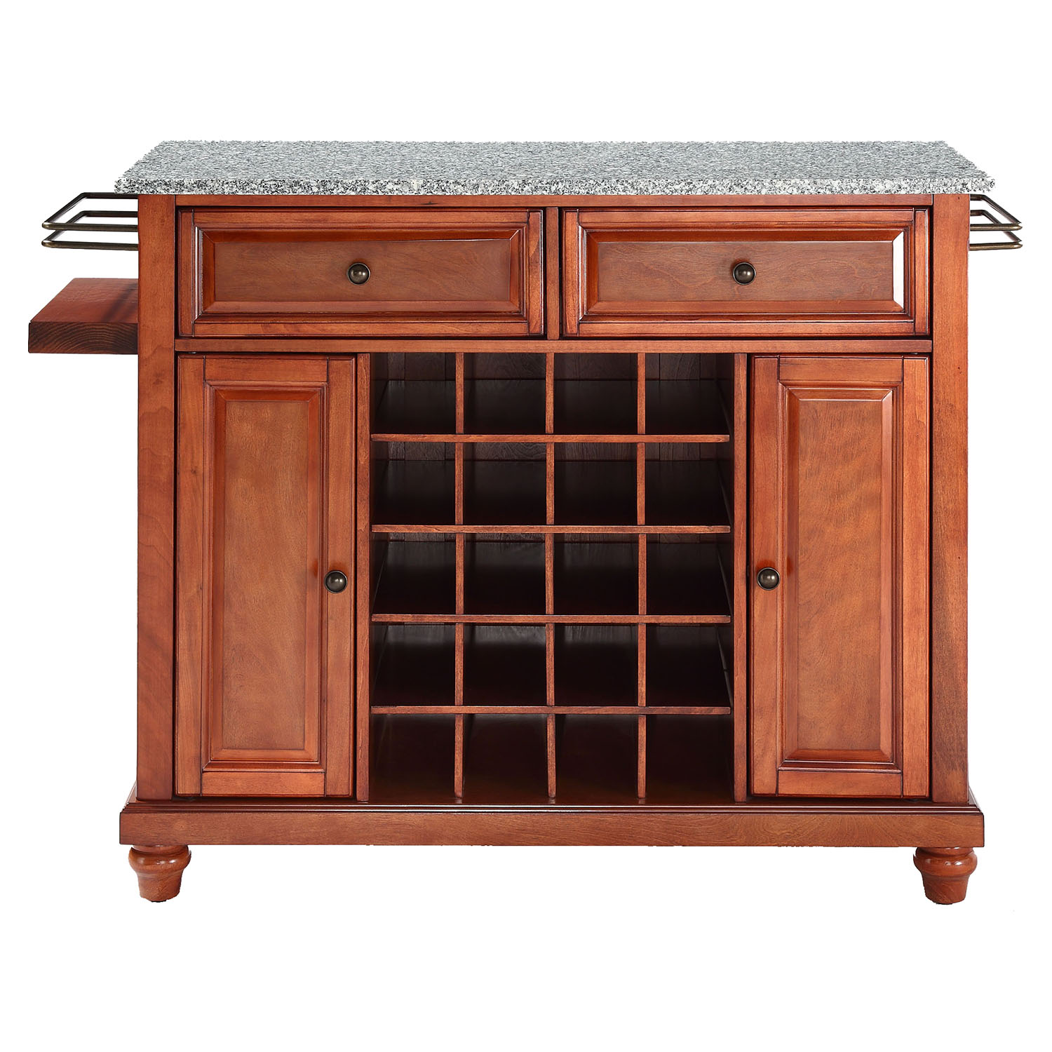 Cambridge Wine Island - Granite Top, Classic Cherry - CROS-KF31003DCH