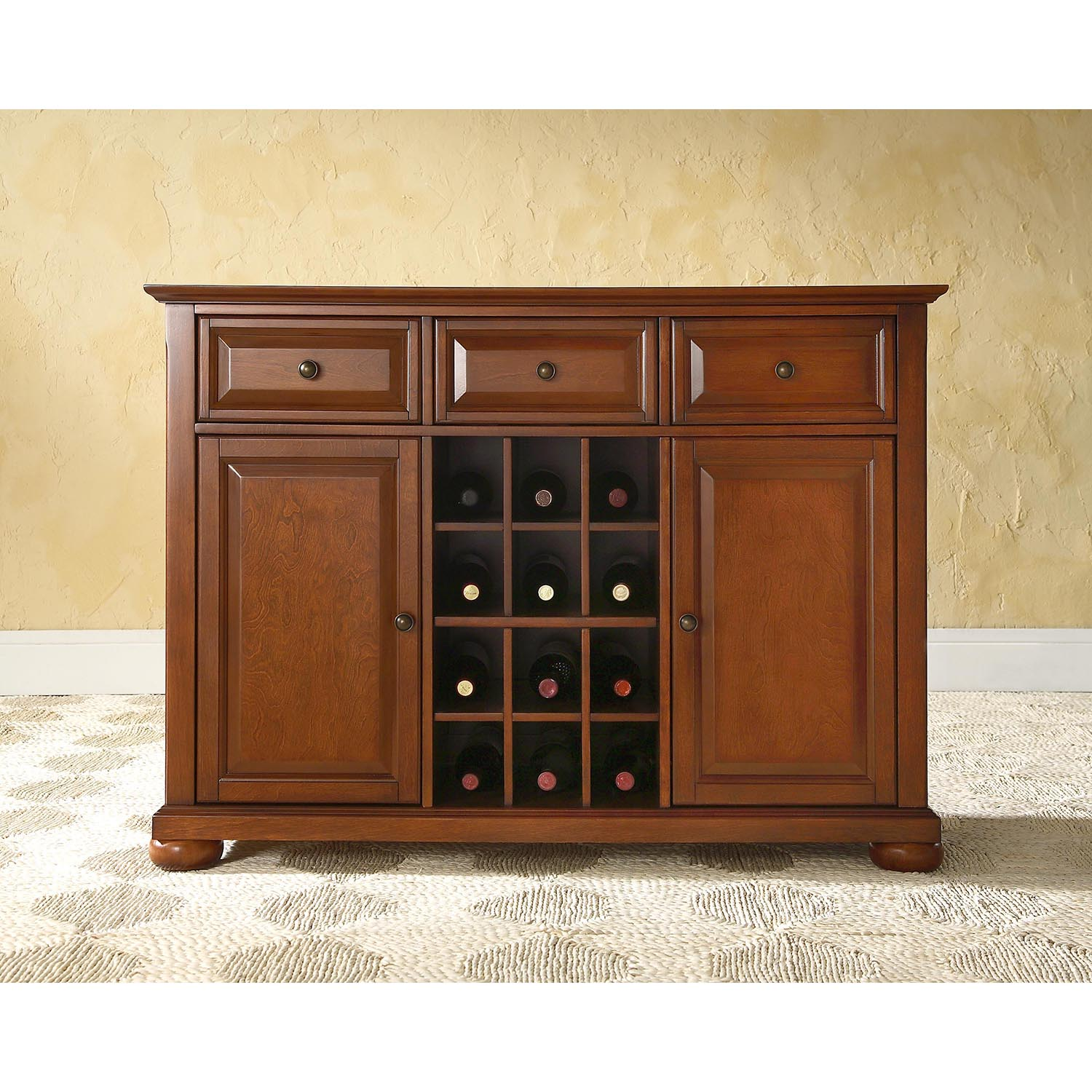 Alexandria Buffet Server Sideboard Cabinet Classic
