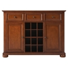 Alexandria Buffet Server / Sideboard Cabinet - Classic Cherry - CROS-KF42001ACH