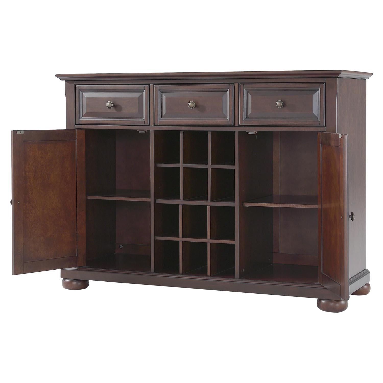 Alexandria buffet server sideboard cabinet vintage for H ngendes sideboard