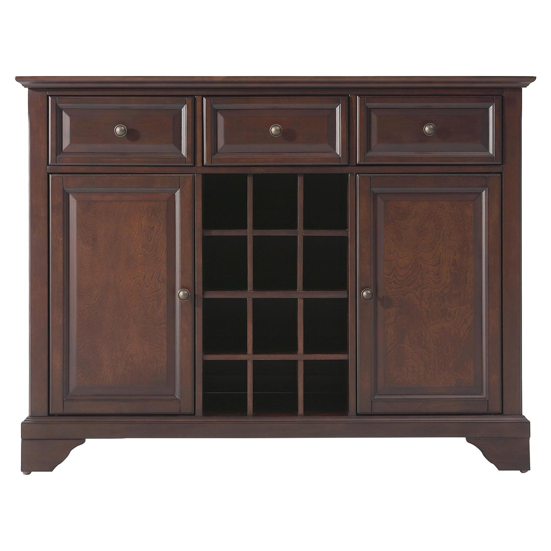 Lafayette buffet server sideboard vintage mahogany for W furniture lafayette la