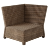 Bradenton Outdoor Wicker Sectional Corner Chair - Sand Cushions - CROS-KO70018WB-SA