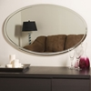 Modern Clean Chrome Frame Wall Mirror - DWM-SSM1067