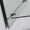 Columbus Frameless Wall Mirror with Shelf - DWM-SM114