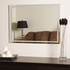 Houston Modern Etched Border Mirror - DWM-SSM13