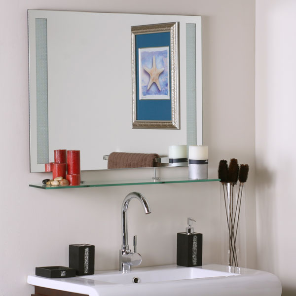 Ricardo shelf mirror dcg stores for Long glass mirror