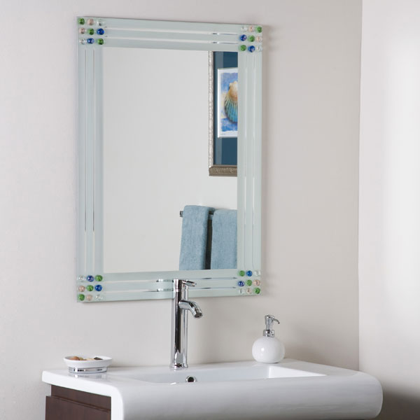 Fabulous Large Bejeweled Mirror - DWM-SSM19