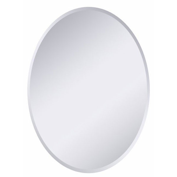 Modern Oval Frameless Wall Mirror - DWM-SSM202