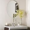 Oval Frameless Bathroom Mirror Dcg Stores