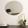 Oval Frameless Bathroom Mirror - DWM-SSM2228