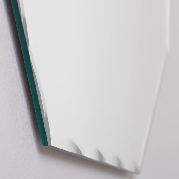 Octagon Shaped Frameless Wall Mirror - DWM-SSM3003