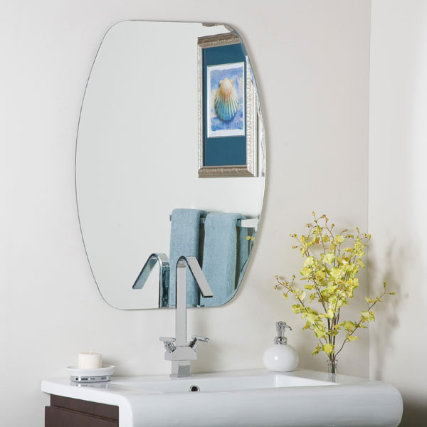 Beveled Frameless Mirror