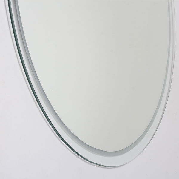 Round Frameless Bathroom Mirror