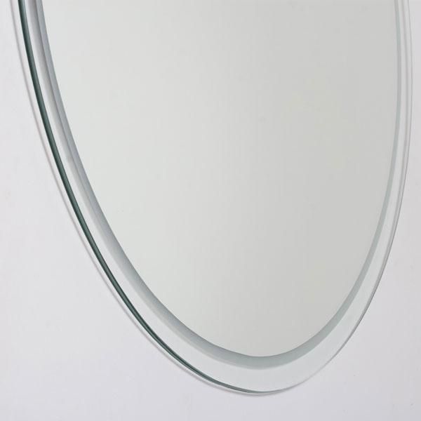 Large Round Frameless Bathroom Mirror - DWM-SSM440