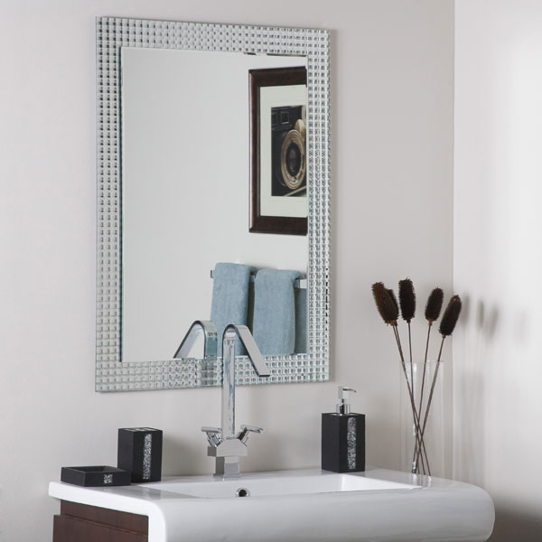 Disco Inferno Frameless Wall Mirror - DWM-SSM5001-12