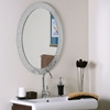 Luxor Frameless Oval Wall Mirror - DWM-SSM5016-4
