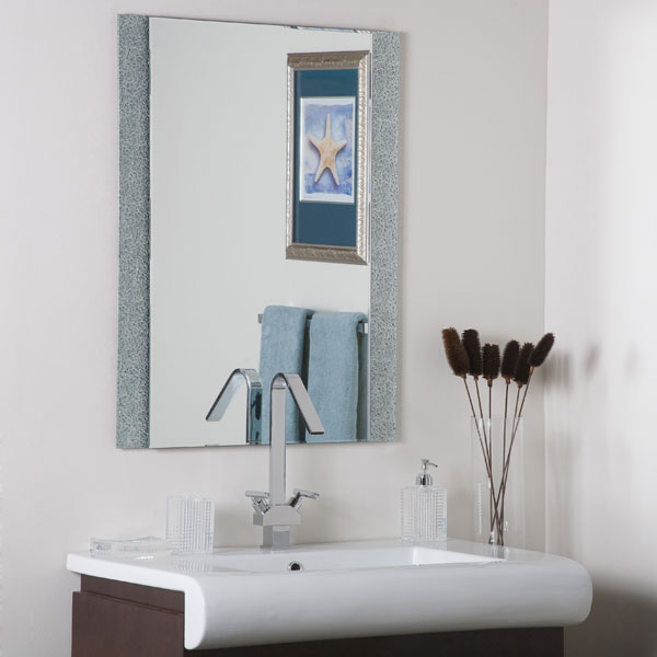 Dune Rectangular Frameless Mirror - DWM-SM5039-1