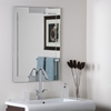Francisco Large Frameless Wall Mirror - DWM-SSM526