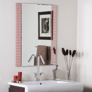 Rectangular Frameless Bathroom Mirror