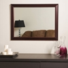London Mahogany Large Wall Mirror - DWM-SSM73