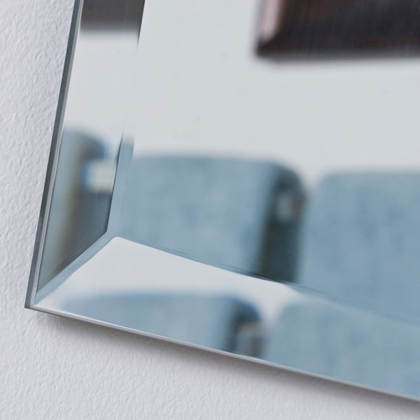 Frameless Square Bevel Mirror - DWM-SSM8001
