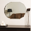 Oval Shaped Frameless Wall Mirror - DWM-SSM8002