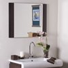 Rich Brown Furniture Framed Wall Mirror - DWM-SSM83