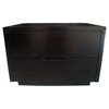Bliss Wenge Wood Nightstand with 2 Drawers - DCS-4150-NS-WEN