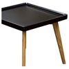 Cafe Square End Table - Black - DS-CAFEETBL