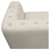 Catalina Button Tufted Sofa - Sand Fabric - DS-CATALINASOSA