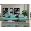 Contempo 3-Piece Sectional - Left Arm Facing Sofa, Adjustable Backrest, Seafoam - DS-CONTEMPO3PCBU