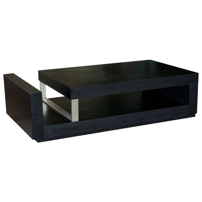 low profile cocktail table with magazine storage dcg stores