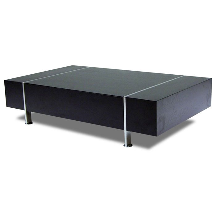 Low Profile Cocktail Table With Side Drawer Dcg Stores