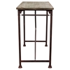 Dixon Rectangular Bar Table - Weathered Gray, Black - DS-DIXONBTBL