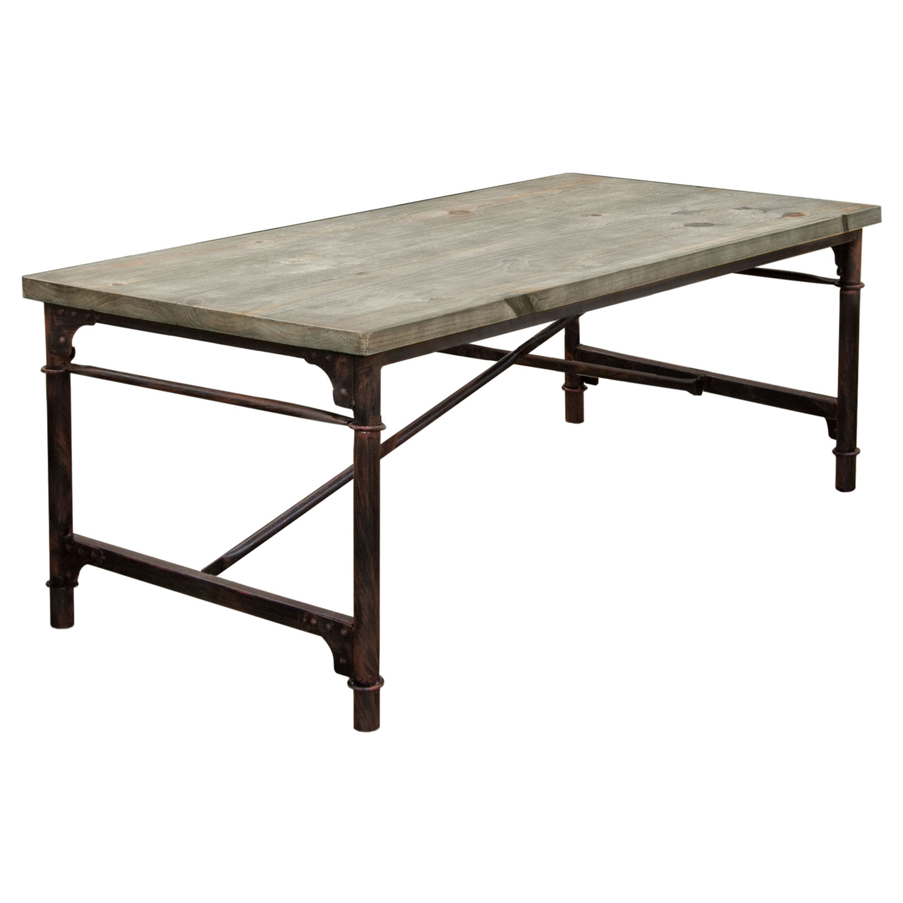 Dixon Rectangular Dining Table Weathered Gray Black  : dixondtbl 1 from www.dcgstores.com size 1800 x 1800 jpeg 135kB