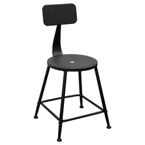 Douglas Metal Stool - Black (Set of 2)