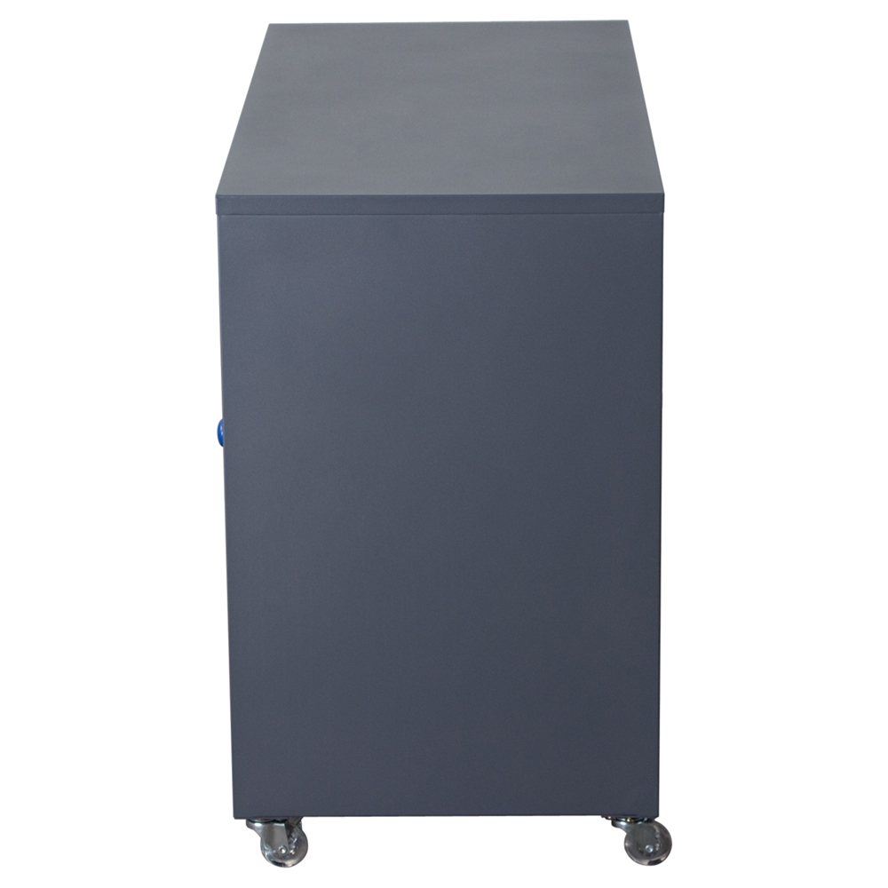 Nova qwik storage cabinet 1 door 3 drawers blue dark for 1 door storage cabinet