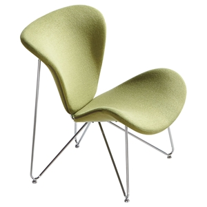 Lexi Fabric Accent Chair - Green