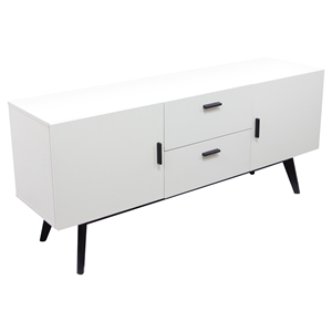 Mode Sideboard - 2 Doors, 2 Drawers, White