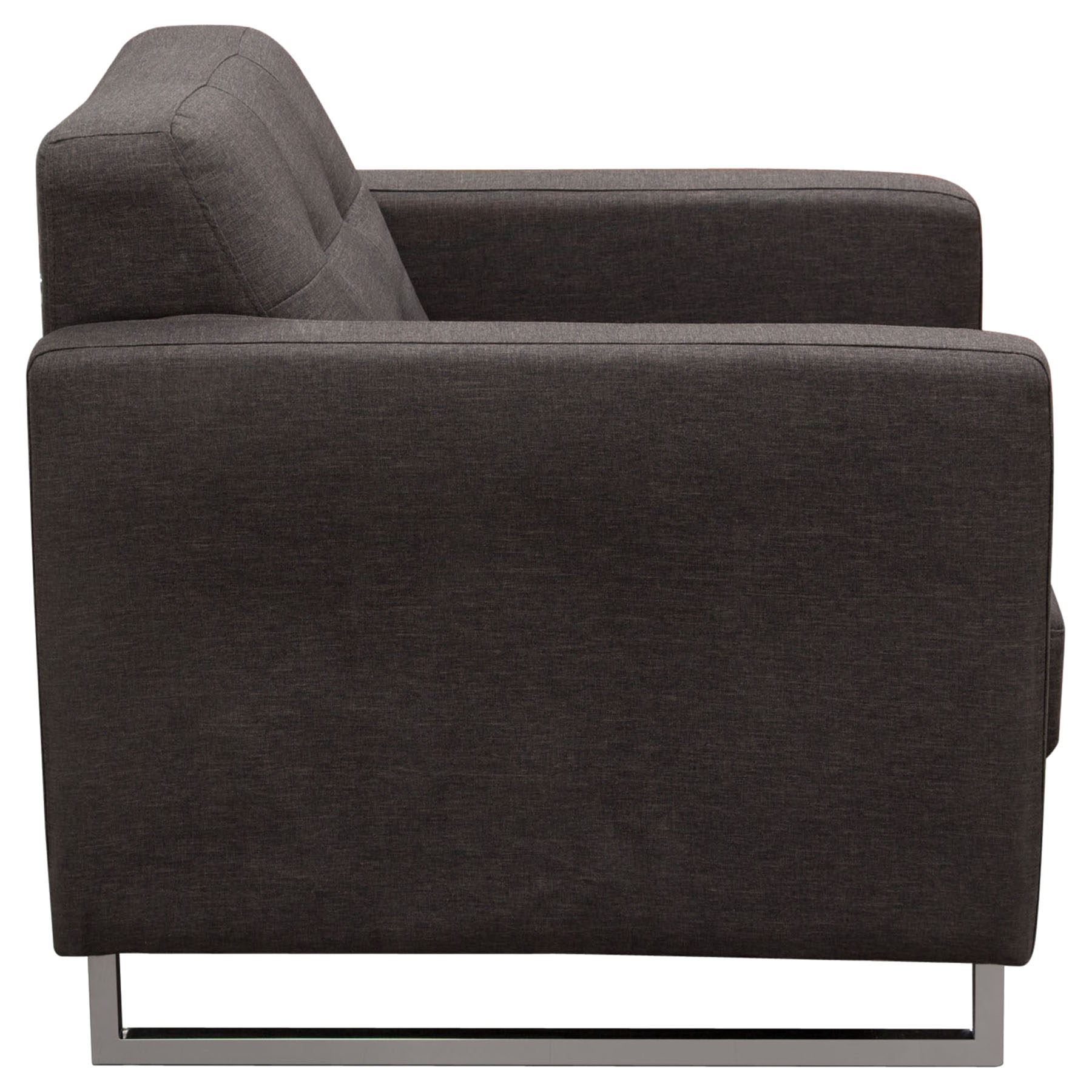 Opus Arm Chair Tufted Chocolate Dcg Stores