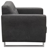 Opus Sofa and Chair - Tufted, Gray, Convertible - DS-OPUSSCGR